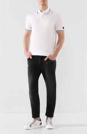 Мужские кожаные кеды BOGNER белого цвета, арт. 101-3991/NIZZA 23B | Фото 2