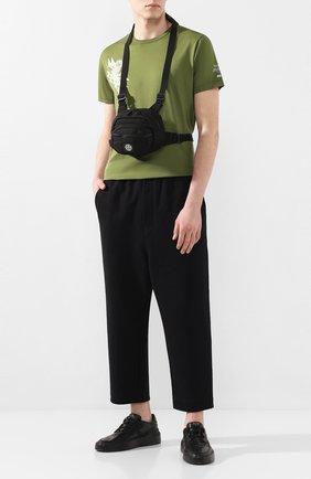 Текстильная нагрудная сумка | Фото №2
