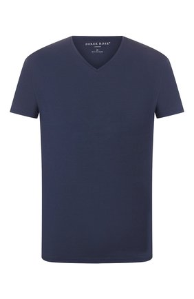 Мужские футболка DEREK ROSE темно-синего цвета, арт. 3084-BASE001 | Фото 1
