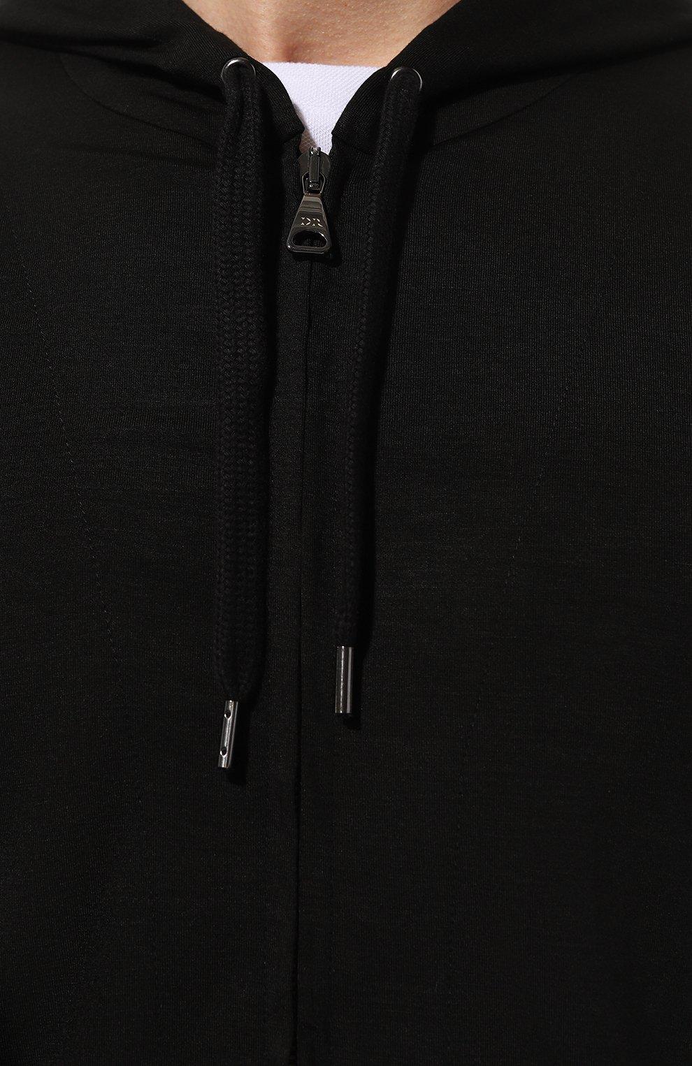 Мужской толстовка DEREK ROSE черного цвета, арт. 3126-BASE001 | Фото 5 (Рукава: Длинные; Кросс-КТ: домашняя одежда; Материал внешний: Синтетический материал; Длина (для топов): Стандартные; Стили: Спорт-шик; Мужское Кросс-КТ: Толстовка-домашняя одежда)