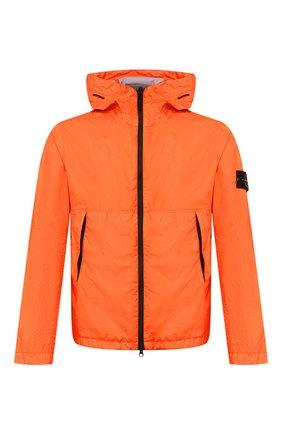 Мужская куртка STONE ISLAND оранжевого цвета, арт. 721542423 | Фото 1