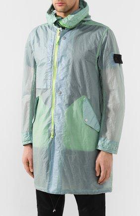 Мужской плащ STONE ISLAND SHADOW PROJECT светло-зеленого цвета, арт. 721970105 | Фото 3