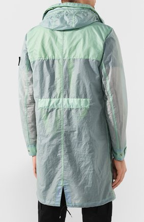 Мужской плащ STONE ISLAND SHADOW PROJECT светло-зеленого цвета, арт. 721970105 | Фото 4