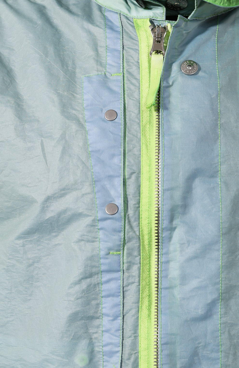 Мужской плащ STONE ISLAND SHADOW PROJECT светло-зеленого цвета, арт. 721970105 | Фото 5