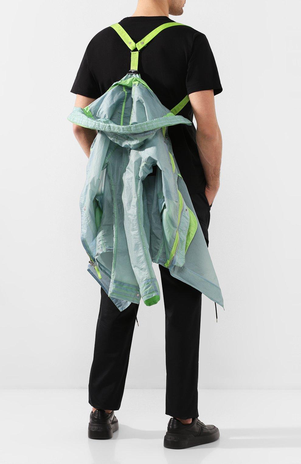 Мужской плащ STONE ISLAND SHADOW PROJECT светло-зеленого цвета, арт. 721970105 | Фото 6