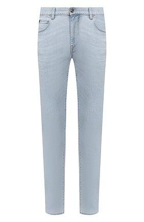 Мужские джинсы Z ZEGNA голубого цвета, арт. VU715/ZZ510   Фото 1