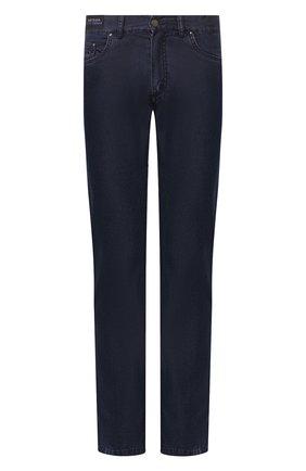 Мужские джинсы PAUL&SHARK темно-синего цвета, арт. P20P4201R | Фото 1