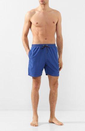 Детского плавки-шорты PAUL&SHARK синего цвета, арт. C0P5000/3XL-6XL | Фото 2