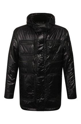 Мужская утепленная куртка DOLCE & GABBANA черного цвета, арт. G9RE3T/HUMGG | Фото 1