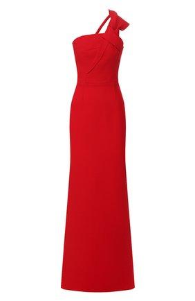 Женское шерстяное платье ROLAND MOURET красного цвета, арт. PS20/S0838/F4044 | Фото 1