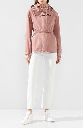 Женская куртка casse MONCLER розового цвета, арт. F1-093-1A739-00-C0382 | Фото 2