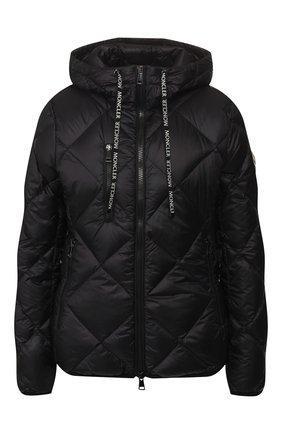 Женский пуховая куртка oulx MONCLER черного цвета, арт. F1-093-1A536-00-C0381 | Фото 1