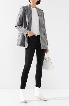 Женская пуловер ATM белого цвета, арт. AW1353-EC | Фото 2