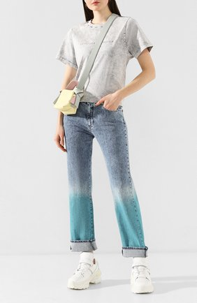 Женские джинсы STELLA MCCARTNEY голубого цвета, арт. 600317/SNH56 | Фото 2