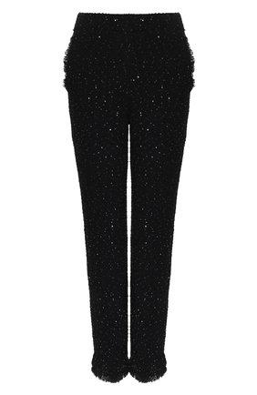 Женские брюки GIORGIO ARMANI темно-синего цвета, арт. 3HAP53/AJXNZ | Фото 1