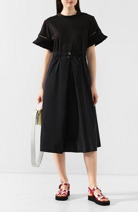 Женское платье MONCLER черного цвета, арт. F1-093-8I706-00-C8031 | Фото 2