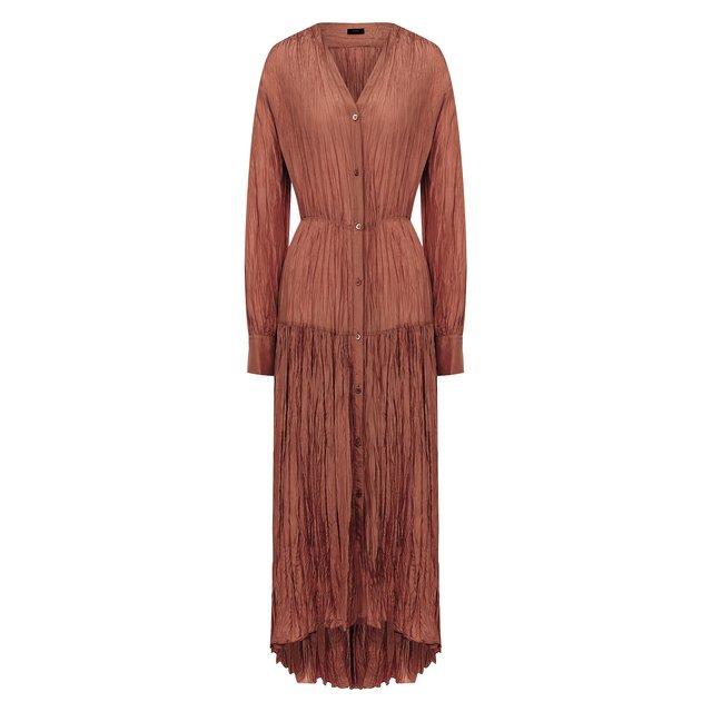 Шелковое платье Joseph
