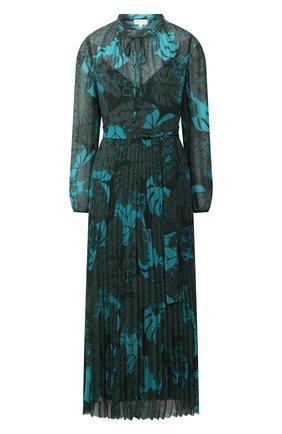 Женское платье с поясом ESCADA SPORT зеленого цвета, арт. 5032450 | Фото 1
