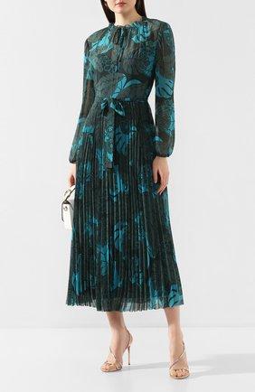 Женское платье с поясом ESCADA SPORT зеленого цвета, арт. 5032450 | Фото 2