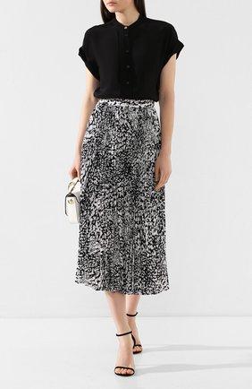 Женская юбка-миди ESCADA черно-белого цвета, арт. 5032972 | Фото 2