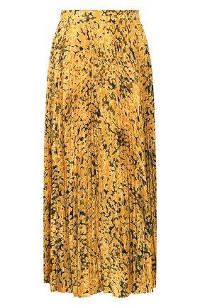 Женская юбка-миди ESCADA желтого цвета, арт. 5032972 | Фото 1