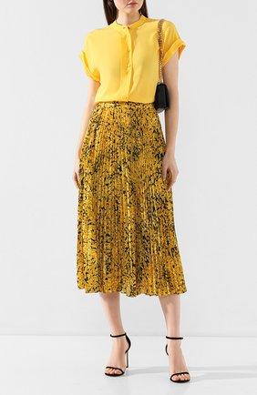 Женская юбка-миди ESCADA желтого цвета, арт. 5032972 | Фото 2