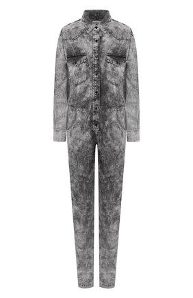 Женский джинсовый комбинезон ISABEL MARANT ETOILE серого цвета, арт. CB0262-20P022E/IDESIA   Фото 1