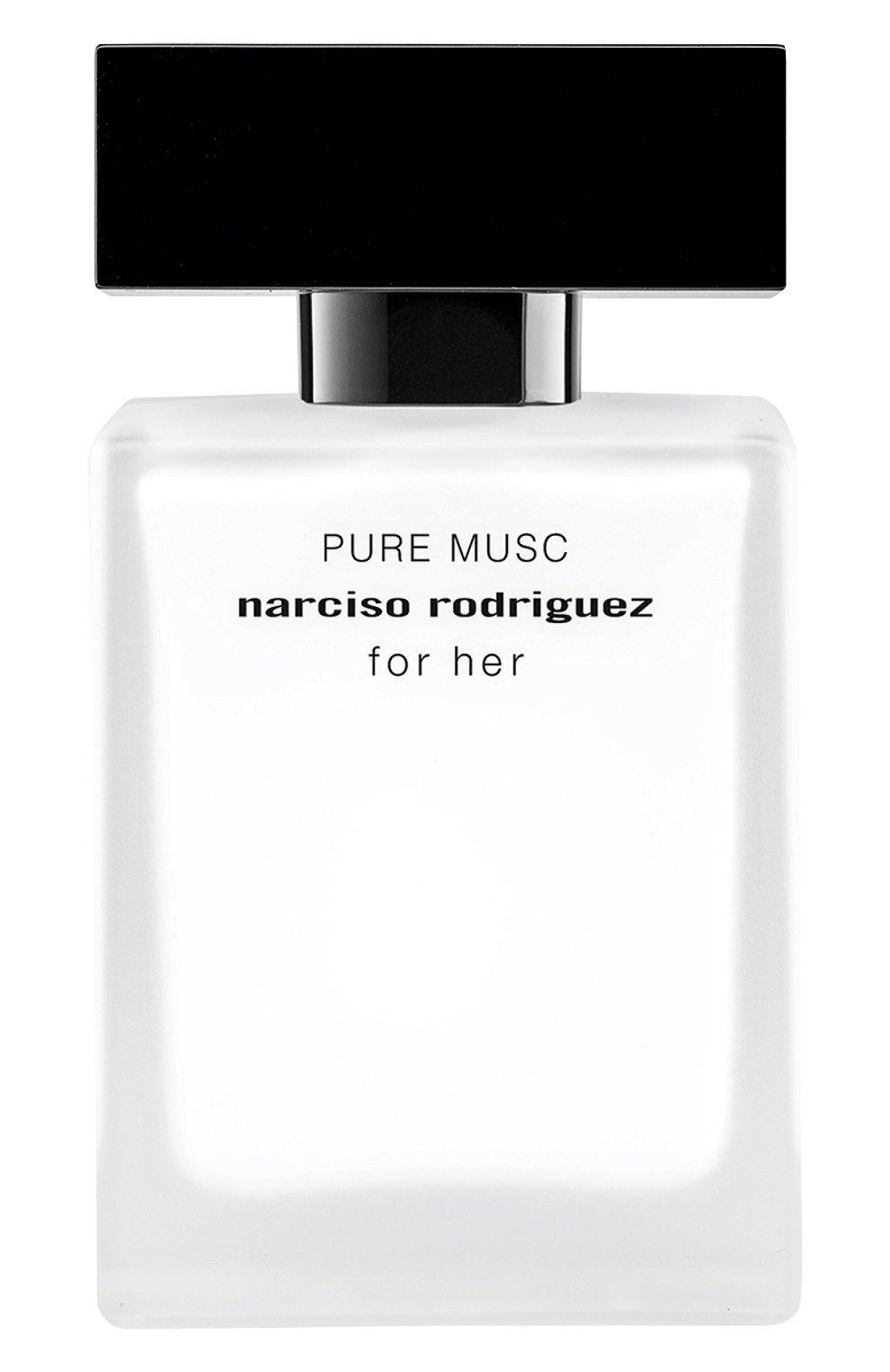 Женский парфюмерная вода for her pure musc NARCISO RODRIGUEZ бесцветного цвета, арт. 850405BP | Фото 1