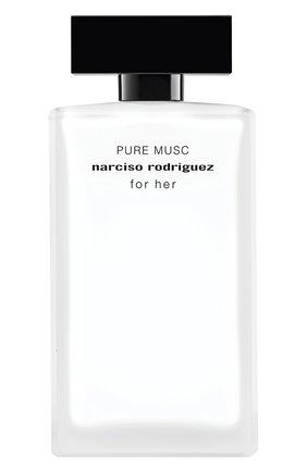 Женский парфюмерная вода for her pure musc NARCISO RODRIGUEZ бесцветного цвета, арт. 851595BP   Фото 1