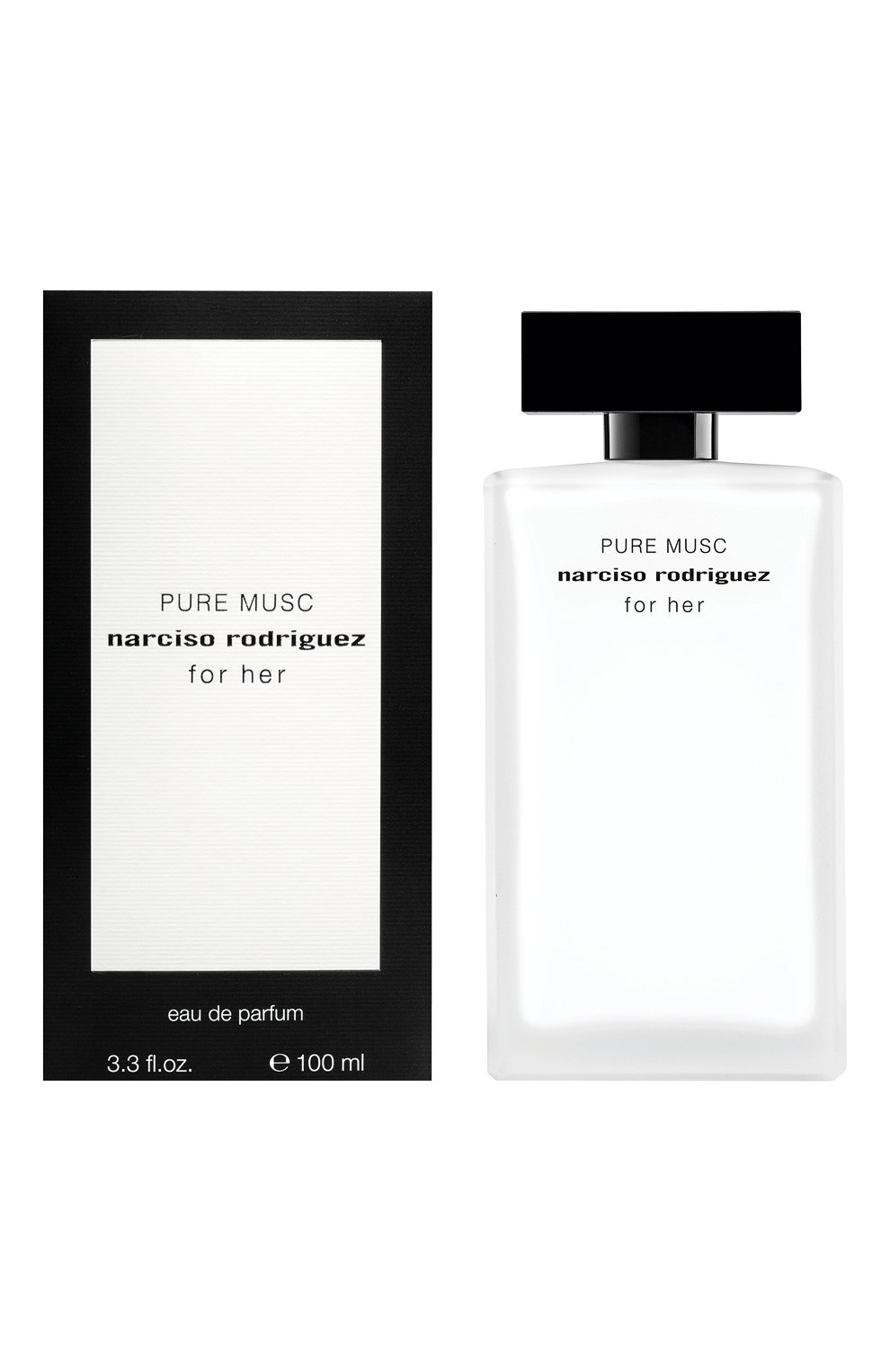 Женский парфюмерная вода for her pure musc NARCISO RODRIGUEZ бесцветного цвета, арт. 851595BP   Фото 2