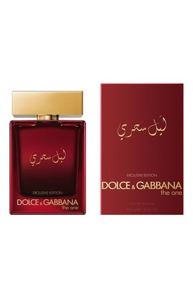 Мужской парфюмерная вода the one men mysterious night DOLCE & GABBANA бесцветного цвета, арт. 8545350DG | Фото 2