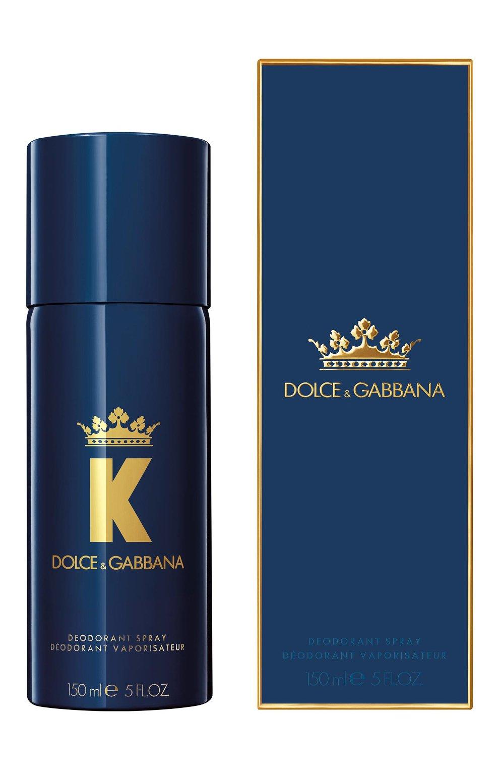 Мужской дезодорант-спрей k DOLCE & GABBANA бесцветного цвета, арт. 8400250DG   Фото 2