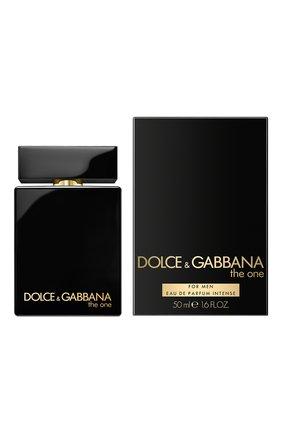 Мужской парфюмерная вода the one for men intense DOLCE & GABBANA бесцветного цвета, арт. 3051850DG | Фото 2