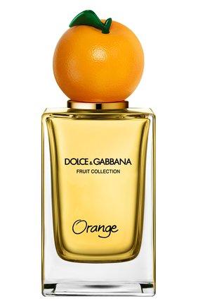 Женский туалетная вода fruit collection orange DOLCE & GABBANA бесцветного цвета, арт. 8540450DG | Фото 1