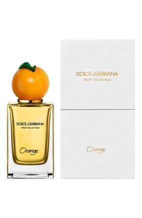 Женский туалетная вода fruit collection orange DOLCE & GABBANA бесцветного цвета, арт. 8540450DG | Фото 2