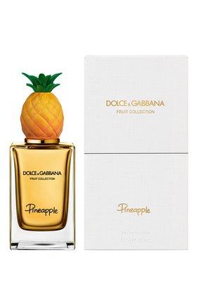 Женский туалетная вода fruit collection pineapple DOLCE & GABBANA бесцветного цвета, арт. 8556150DG | Фото 2