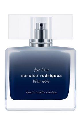 Мужской туалетная вода for him bleu noir extrême NARCISO RODRIGUEZ бесцветного цвета, арт. 899905BP | Фото 1