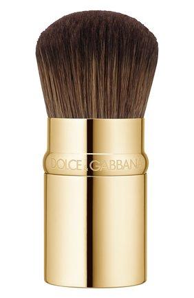 Женская кисть-трансформер кабуки для тональных средств DOLCE & GABBANA бесцветного цвета, арт. 8617650DG | Фото 1