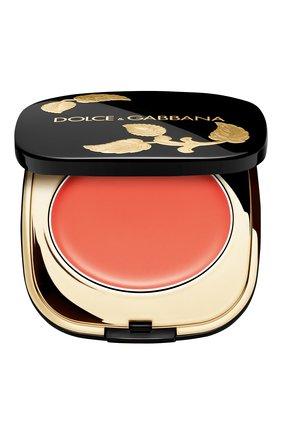 Женские кремовые румяна dolce blush, оттенок 10 tangerin DOLCE & GABBANA бесцветного цвета, арт. 8757750DG | Фото 1