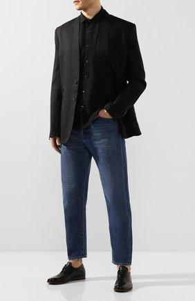 Мужские кожаные оксфорды SILVANO SASSETTI черного цвета, арт. S19833X20*XCSNANER0 | Фото 2