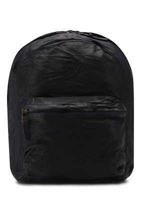 Мужской кожаный рюкзак GIORGIO BRATO темно-синего цвета, арт. BS20S2401V | Фото 1