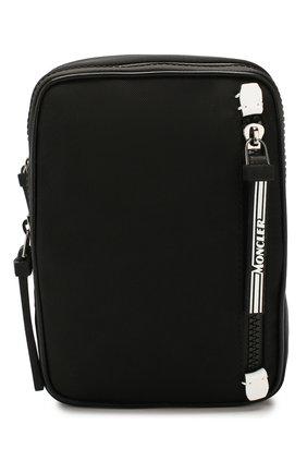 Мужская текстильная сумка MONCLER черного цвета, арт. F1-09A-5L700-00-02SBA | Фото 1