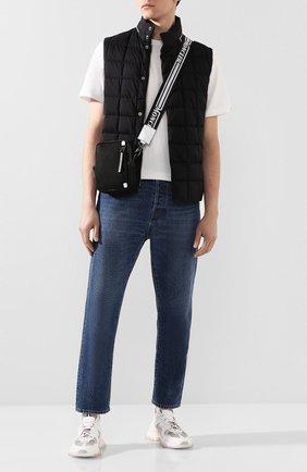 Мужская текстильная сумка MONCLER черного цвета, арт. F1-09A-5L700-00-02SBA | Фото 2