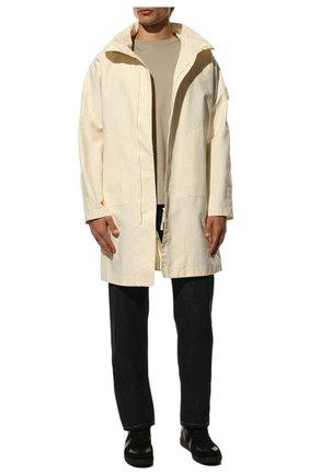 Мужские кожаные кеды replica MAISON MARGIELA черного цвета, арт. S57WS0236/P1897 | Фото 2 (Материал внутренний: Натуральная кожа, Текстиль; Подошва: Плоская)