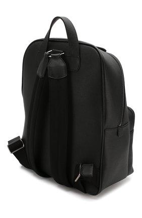 Мужской кожаный рюкзак GIORGIO ARMANI черного цвета, арт. Y20122/YTD0J | Фото 3