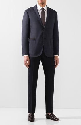 Мужские кожаные пенни-лоферы BERLUTI бордового цвета, арт. S4968-002 | Фото 2