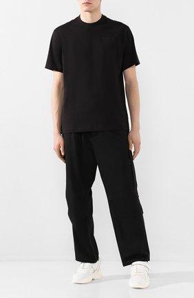 Мужская хлопковая футболка Y-3 черного цвета, арт. FN3358/M | Фото 2