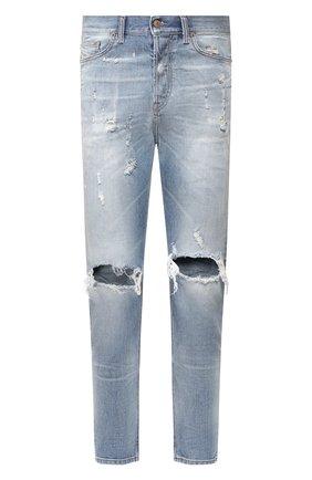 Мужские джинсы DIESEL голубого цвета, арт. 00SSQ3/0097J | Фото 1