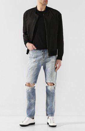 Мужские джинсы DIESEL голубого цвета, арт. 00SSQ3/0097J | Фото 2