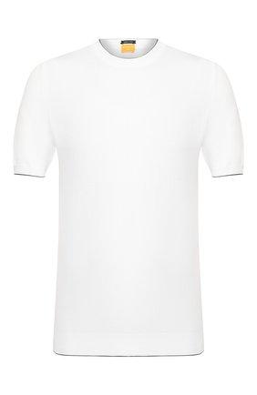 Мужской хлопковый джемпер SVEVO белого цвета, арт. 4650/3SE20/MP46   Фото 1